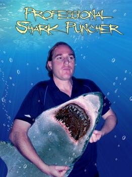 Shark Puncher by JustCallMeSirus