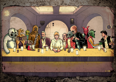 The Last Cantina Hangout by donovanalex