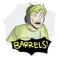 Pewdiepie : Barrels! by ashita-no-jyo