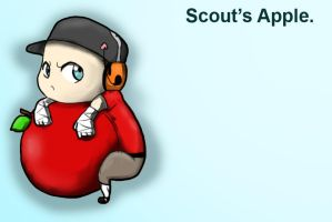 Scout's apple by MicroScout