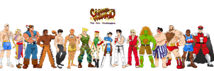 Super Street Fighter II The New Challengers by simpleguyfa