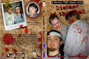 Disease of the dead dvd cover by bottlesofpoison