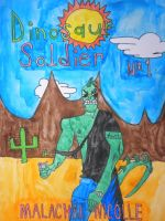 Dinosaur Soldier: Jeff Smith-style by BARproductions