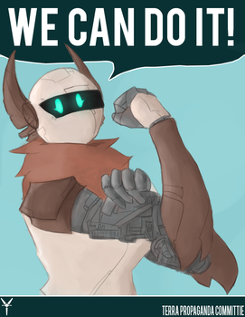 We Can Do It! by FrankCrumpets
