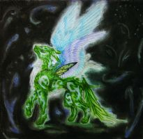 Faerie Wolf by WindsCaller