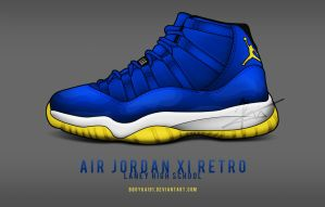 Air Jordan 11 Retro 'Laney' by BBoyKai91