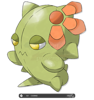 Fakemon: 021 Cugrass by zephleit
