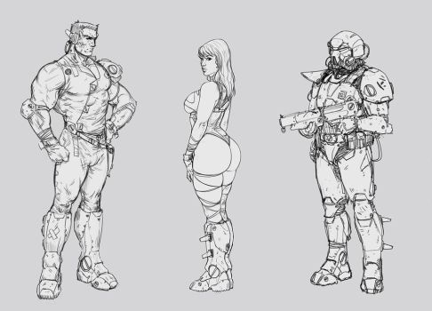 Design Sketches by SalvadorTrakal