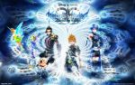 Kingdom Hearts BbS Wallpaper 2 by Ben255525