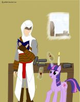 Altair Ponyality by Paladin0