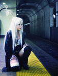 In the underground. by Kateliana
