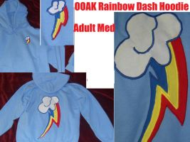 Rainbow Dash Hoodie FOR SALE by Dark-Sith-Angel