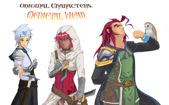 Collab_Medieval_Ky,Lipe,IsraZ by Lonely-X
