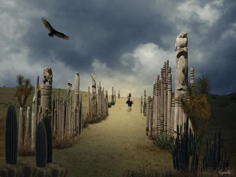 Le chemin des totems by Eymele