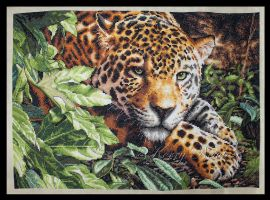 Leopard in Repose by KezzaLN