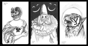Handsome Grotesques by Inkwerk