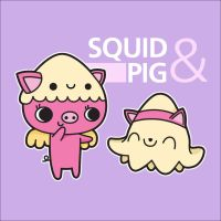 CONTEST: Squid and Pig by Cute-Creations