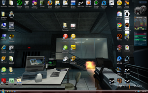 My Desktop by GoldenEyeKnuckles