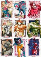Marvel Universe 2014 Series Trading Cards by KerrithJohnson