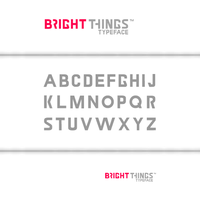 Bright things Font Draft by Nikeos