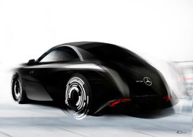 new mercedes style fast render by Qvaka