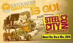 EWG Attending Steel City Con by EryckWebbGraphics