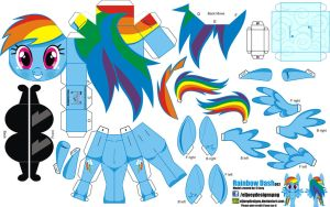Rainbow Dash (Joinys 002) by ELJOEYDESIGNS