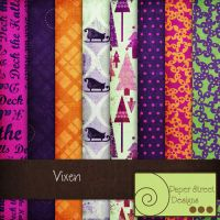 vixen-paper street designs by paperstreetdesigns