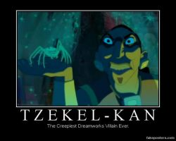 Tzekel-Kan by humpadinkhuckleberry