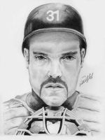 Mike Piazza by ScottyDal