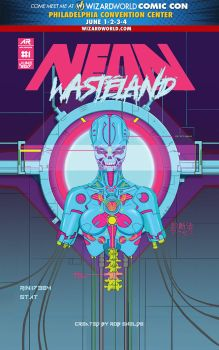 Neon Wasteland Mini Comic by RobShields