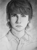 Joel Courtney by GirlOutOfSpace