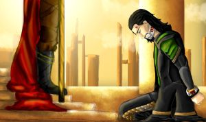 Loki - I Could've Done It, Father! by IgnitingLights