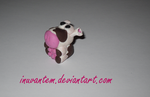 Fimo Cow by Inuvantem