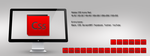 Adobe CS5 Icons Red by m-trax