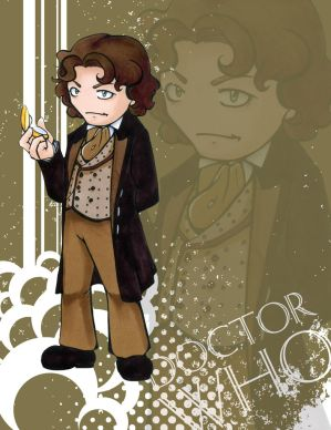 Doctor Who - Paul McGann by Marker-Mistress