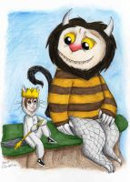 Where The Wild Things Are by Madame-Kikue