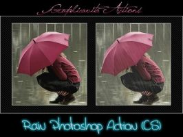 Rain Photoshop Action by graphicavita