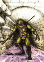 Donatello does machines by SaintYak