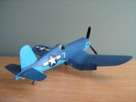 F4U1-D Corsair by Defibulator