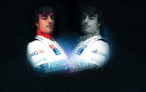 Fernando Alonso 2009 by Rosiu46