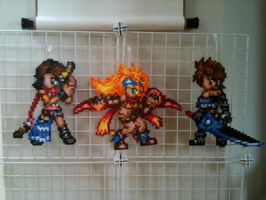 Final Fantasy X-2 Group by VIITheGambler