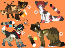 .: Point adoptables ( CLOSED ) :. by Milkshake-Adopts