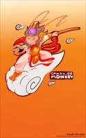 Candy Monkey by metalkid