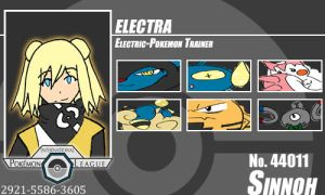 Trainer - Electra by Pokemon-League
