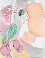 Super Famicom Sisters by Streled