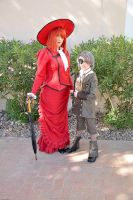 Red and Ciel by Scruffypants