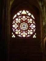 rosette of San Vito cathedral by MurasakiChibiNeko