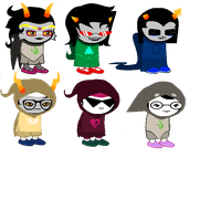 Godtier Sprites by Decapitated-Kittens