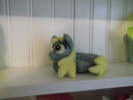 Needle felted Derpy by imaginaryfriends2012
